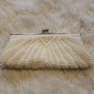 Handbags - Cream colored evening bag